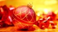Christmas Ball und Kamerafahrt mit dolly