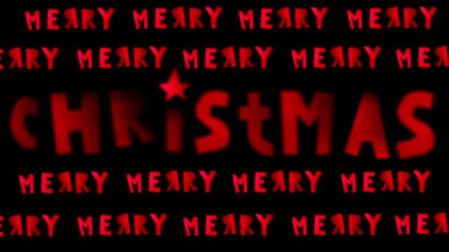 Christmas Card, Neon, Lights, Christmas Stars