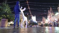 A Christmas fair combining Russian and European traditions opens in Moscow's Red Square for the first time as Russia gets ready for New Year and...