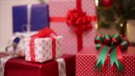 Christmas gifts box presen