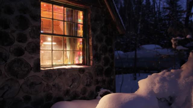 Weihnachten und Schnee Haus