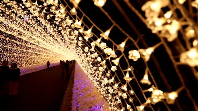 Christmas illuminations Nabana no Sato garden