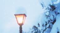 Christmas Lamp Post | Loopable