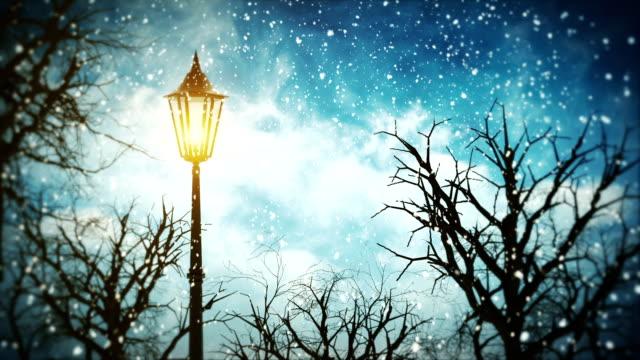 Weihnachten Lamppost Endlos wiederholbar