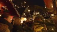 Weihnachtsmarkt in Nahaufnahme
