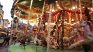 Christmas Market Stalls, Birmingham, West Midlands, England, United Kingdom