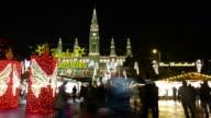 Weihnachten Markt, Wien-Zeitraffer