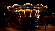 Christmas Market with carousel