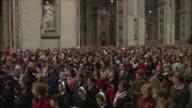 WS PAN ZI Christmas midnight mass at St Peter's Basilica / Vatican City, Vatican