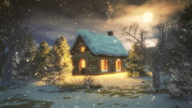 Weihnachten Nacht - 4 k/Endlos wiederholbar