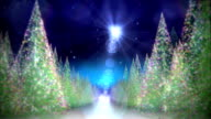 Christmas road