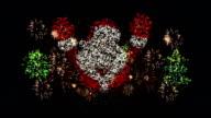 Christmas Santa Claus Fireworks