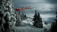Christmas Santa Claus Scene