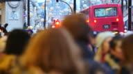 4K Christmas & Shopping on Oxford street, London