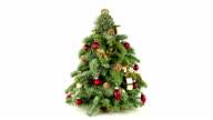 Weihnachtsbaum, HD-VIDEO Aufnahme