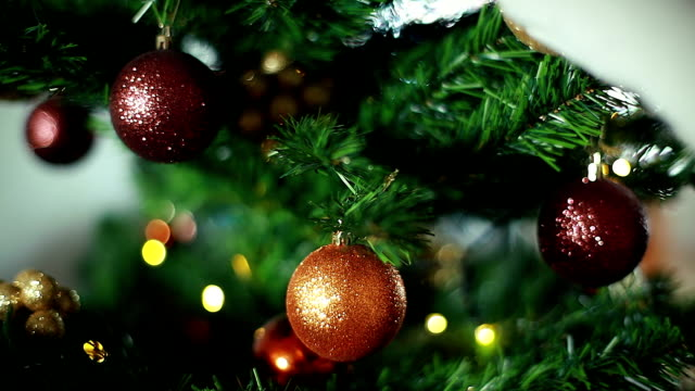 HD: Weihnachtsbaum-Ornamenten