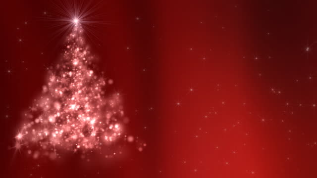 red christmas tree background - photo #8