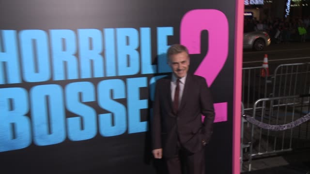 Christoph Waltz at the 'Horrible Bosses 2' Los Angeles World Premiere at TCL Chinese Theatre on November 20 2014 in Hollywood California