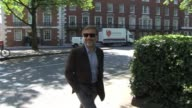 Christoph Waltz out in London heading to a local synagogue SIGHTED Christoph Waltz on May 04 2011 in London England
