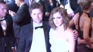 Christopher Bailey and Emma Watson at the 'American Woman Fashioning A National Identity' Met Gala Arrivals at New York NY