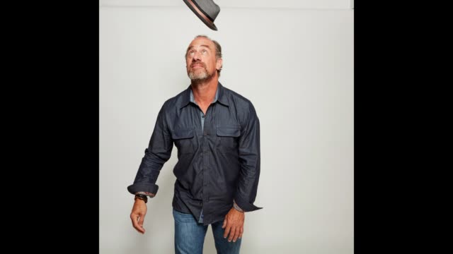 Christopher Meloni poses for a portrait gif at the 2017 ComicCon Portrait Studio at Hard Rock Hotel San Diego on July 21 2017 in San Diego California