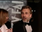 Christopher Waltz talks to press at 82nd Annual Academy Awards Los Angeles 7 March 2010