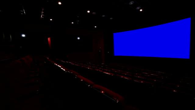 Chroma key cinema screen