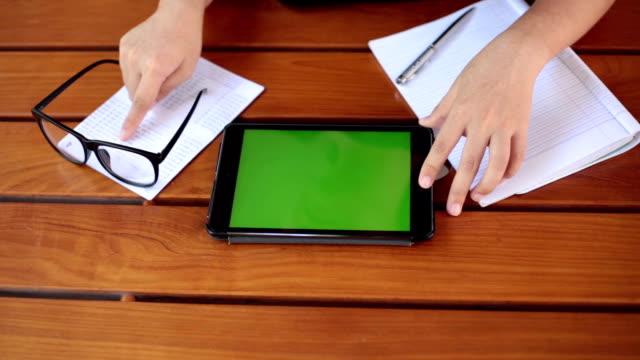 Chroma key in tablet