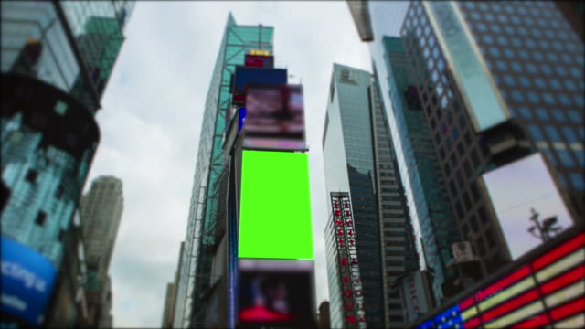 Chromakey Green screen Time Square New York City Manhattan