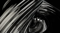 Chrome abstract animation loop