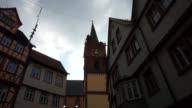 Church bells in Wertheim, Germany