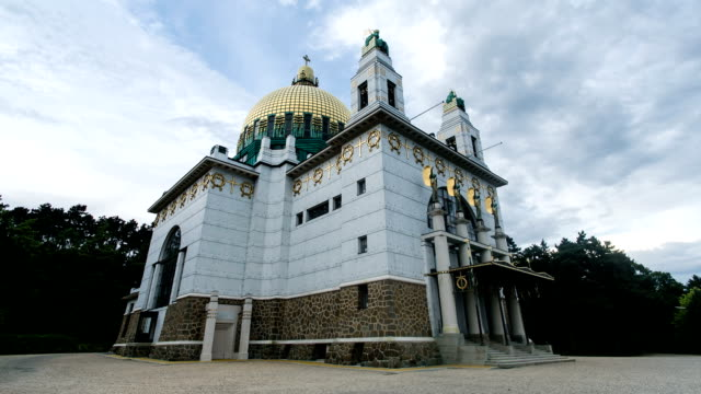 Kirche von Otto Wagner-Zeitraffer