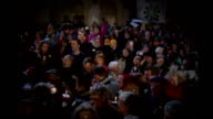 Church of England general synod votes against women bishops Reaction T11119205 / TX Crowd of people cheering as Church of England General Synod...