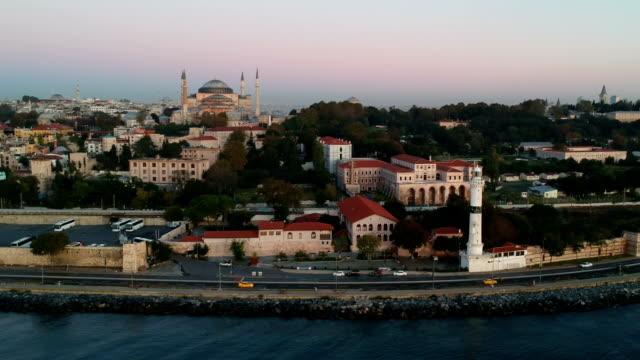 Kerk van de Hagia Sophia en Ahirkapi Lighthouse