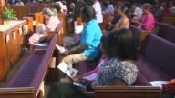 Church Service In Honor Of Trayvon Martin at St Sabina Church on July 15 2013 in Chicago Illinois