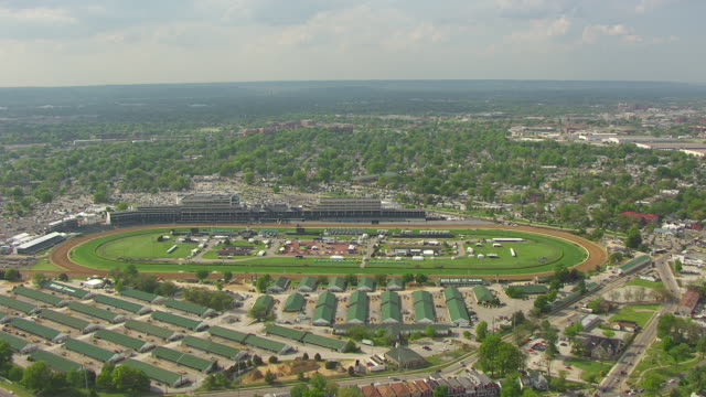 Ws Aerial Churchill Downs Louisville Kentucky United