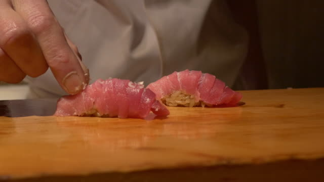 Chutoro add a little salt (SUSHI)