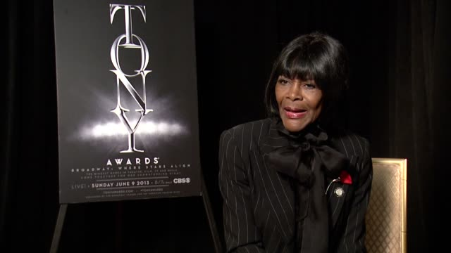 INTERVIEW Cicely Tyson on finding out about her nomination for 'The Trip to Bountiful' at 2013 Tony Awards Meet The Nominees Press Reception at...