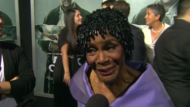 Cicely Tyson on her role on working with Tyler Perry at Alex Cross Los Angeles Premiere on in Hollywood CA