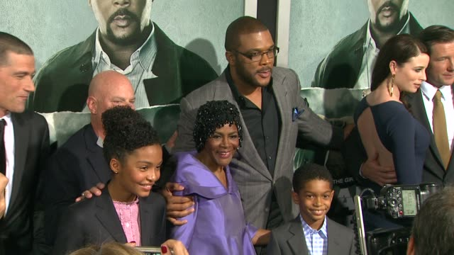 Cicely Tyson Tyler Perry at Alex Cross Los Angeles Premiere on in Hollywood CA