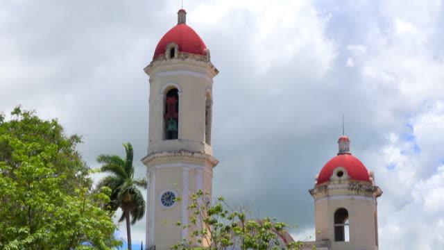 Cienfuegos, Cuba: Main Catholic Cathedral in the Jose Marti Park