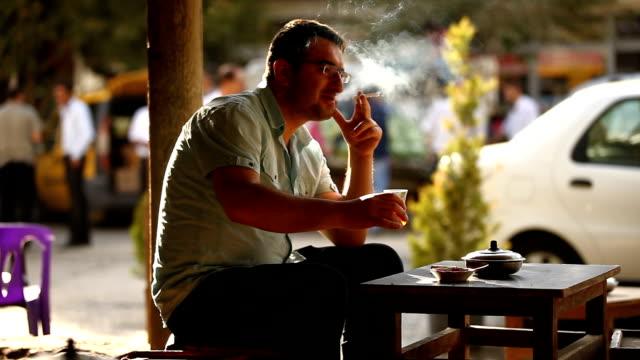 Cigarette and Tea