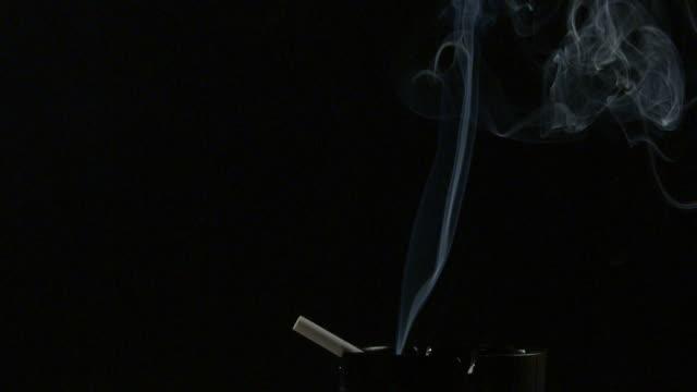 cigarette, smoke slow motion