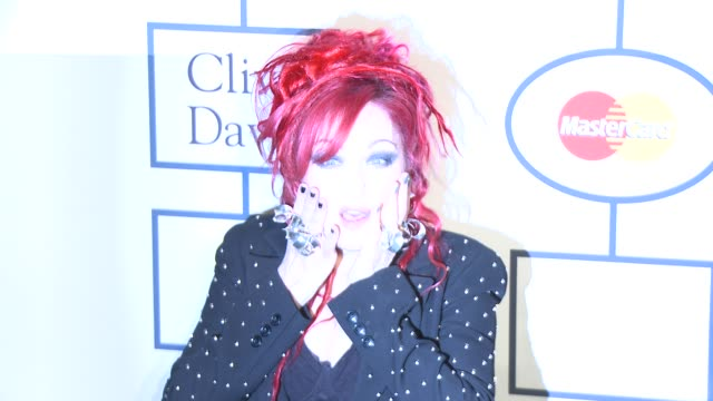Cindi Lauper at 2014 Grammy Salute To Industry Icons Honoring Lucian Grainge in Los Angeles CA