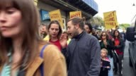 Cinema workers stage a fresh strike exactly a year after the start of their pay dispute Members of the Bectu union at The Ritzy in Brixton walk out...