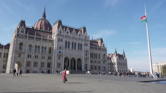 Cinemagraph of Budapest Parliament