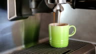 Cinemagraph of Coffee Pouring in a Cup