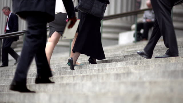 CINEMAGRAPH-New York Woman Business Stairs