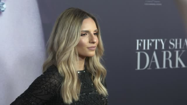 Cinta arrives ahead of the Fifty Shades Darker launch screening at Hoyts Entertainment Quarter on February 08 2017 in Sydney Australia