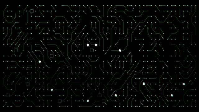 Leiterplatte-Animation